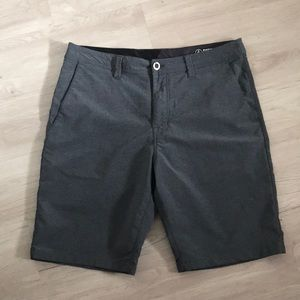 Volcom surf and turf grey shorts 33